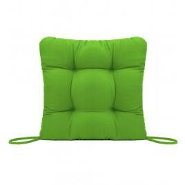 Perna decorativa pentru scaun de bucatarie sau terasa, dimensiuni 40x40cm, culoare Verde