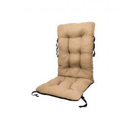 Perna pentru scaun de gradina sau sezlong, 48x48x75cm, culoare bej