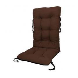 Perna pentru scaun de gradina sau sezlong, 48x48x75cm, culoare maro