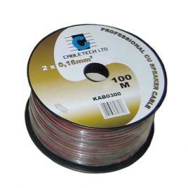 Cablu difuzor r/n 1.5mm cu 100 m