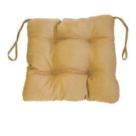 Perna decorativa pentru scaun de bucatarie sau terasa, dimensiuni 40x40cm, culoare Bej