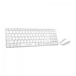 Kit Tastatura si Mouse Wireless Liberty Esperanza Alb