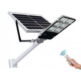 Lampa stradala led 500w, panou solar detasabil, telecomanda