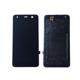 Display cu touchscreen si rama allview a9 lite original negru
