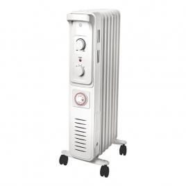 Radiator electric, 1500 W, 360 x 239 mm, alb, 7 elementi
