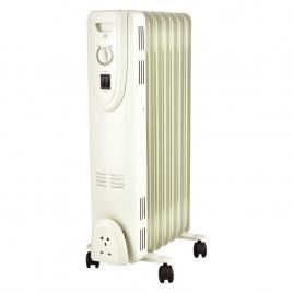 Radiator electric, 1500 W, 640 x 350 mm, bej, 7 elementi