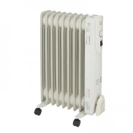 Radiator electric, 2000 W, 640 x 430 mm, crem, 9 elementi