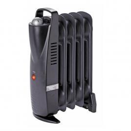 Radiator electric, 500 W, 390 x 140 mm, negru, 5 elementi