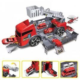 Set de joaca masina de pompieri si accesorii incluse