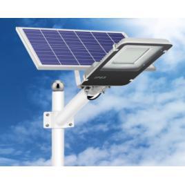 Lampa stradala led 200w, panou solar detasabil, telecomanda
