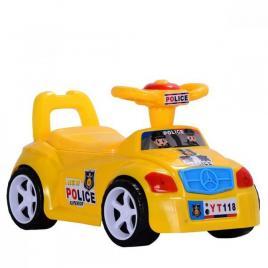 Olita Masinuta pentru copii cu volan yellow