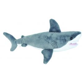 jucarie plus marele rechin alb wild republic 20 cm