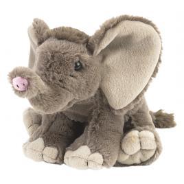 Jucarie plus pui de elefant african wild republic 20 cm
