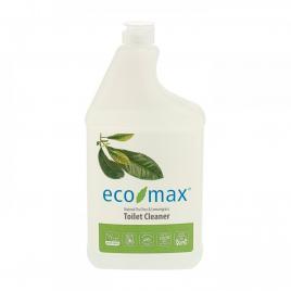 Solutie anticalcar vas de toaleta, cu tea tree si lemongrass, ecomax, 1 l