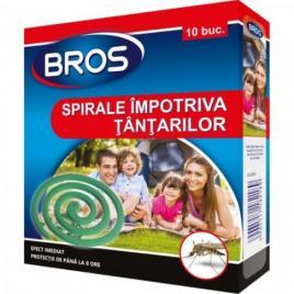 Spirale Impotriva Tantarilor (Efect Imediat) Bros, 10buc. (012)