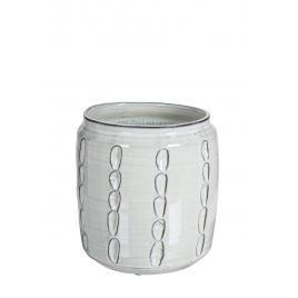 Vaza ceramica gri naxos  Ø 24.5 cm x 24.5 h