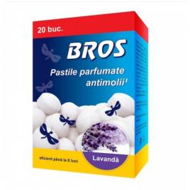BROS Pastile Parfumate Anti Molii 20buc. (203)
