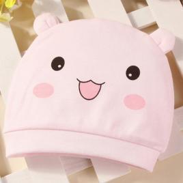 Caciulita roz tip fes (marime disponibila: 0-3 luni)