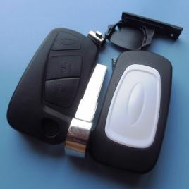 Carcasa cheie briceag ford ka 3 butoane