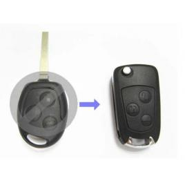 Carcasa cheie briceag ford focus ii 3 butoane pentru transformat