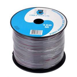 Cablu difuzor cca 2x0.20mm negru 100m
