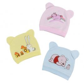 Caciulita tip fes pentru bebelusi - diverse modele (marime disponibila: 0-3...