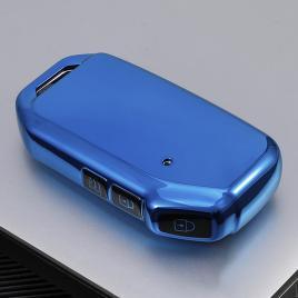Husa cheie auto kia smartkey albastra