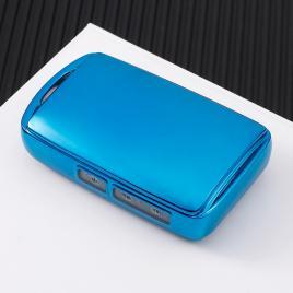 Husa cheie mazda smartkey 3 butoane tpu mazda cx30 albastra