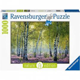 Puzzle padurea de mesteacan, 1000 piese