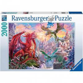Puzzle tinutul dragonilor, 2000 piese
