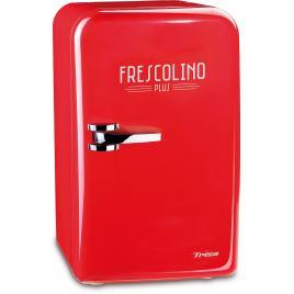 Mini frigider trisa frescolino red, 17l, alimentare 220v si auto 12v, cod produs 7731.8310