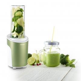 Nutriblender juicer trisa power smoothie 6930.24, cutit cu 4 lame, 21.000rot/min, verde