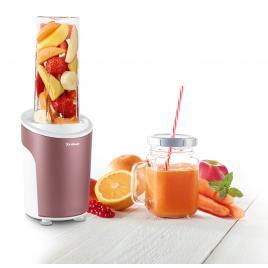 Nutriblender juicer trisa power smoothie 6930.87, cutit cu 4 lame, 21.000rot/min, rosu