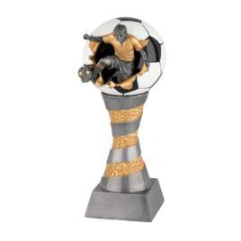 Trofeu Figurina din Rasina Fotbal cu inaltime 21 cm