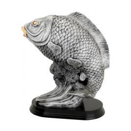 Trofeu Figurina din Rasina Peste cu inaltime 37 cm