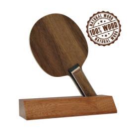 Trofeu din Lemn Tenis de Masa cu inaltime 14 cm