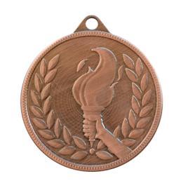 Medalie Flacara Olimpica Bronz cu 5 cm diametru
