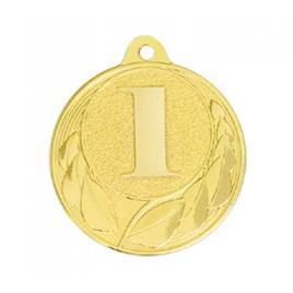 Medalie Locul 1 Auriu cu 4 cm diametru