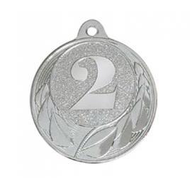 Medalie Locul 2 Argintiu cu 4 cm diametru