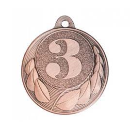 Medalie Locul 3 Bronz cu 4 cm diametru