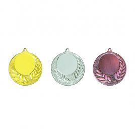 Medalii 3 bucati Auriu, Argintiu, Bronz cu 4 cm diametru