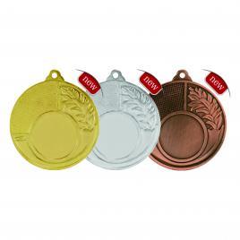 Medalii 3 bucati Auriu, Argintiu, Bronz cu 5 cm diametru