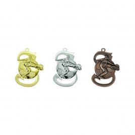 Medalii Fotbal 3 bucati Auriu, Argintiu, Bronz cu 5 cm diametru