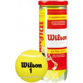 Set 3 mingi de tenis de camp wilson championship extra, galben