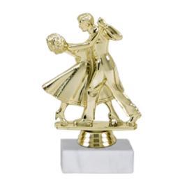 Trofeu Figurina Dans Sportiv cu inaltime 15 cm