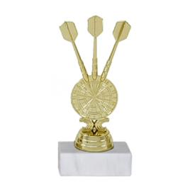 Trofeu Figurina Darts cu inaltime 15 cm