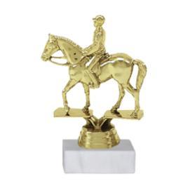 Trofeu Figurina Ecvestru Calaret cu inaltime 14 cm