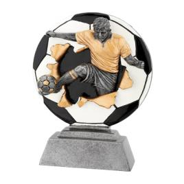 Trofeu Figurina din Rasina Fotbal cu inaltime 10 cm