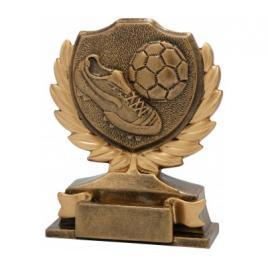 Trofeu Figurina din Rasina Fotbal cu inaltime 12 cm