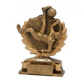 Trofeu Figurina din Rasina Fotbal cu inaltime 14 cm